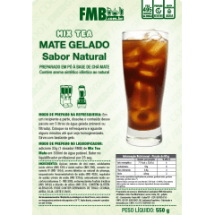 MIX TEA NATURAL CHÁ GELADO - 550G - FMB - 10 pacotes