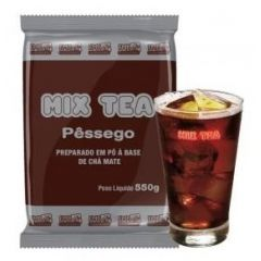 Chá Mate Mix Tea Gelado- FMB - Pêssego