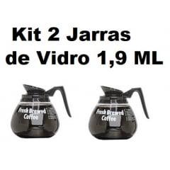 Jarra de Vidro para Cafeteira - Kit com 2 Unidades