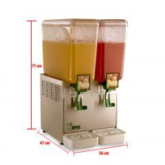 Refresqueira J2.20 - 2 cubas de 20 L - Bras Sulamericana